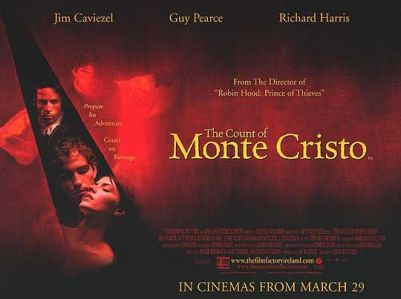 The Count of Monte Cristo movie poster