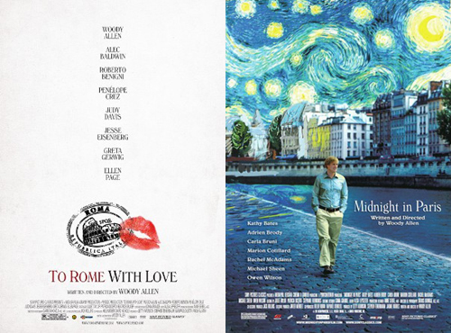 To Rome with Love & Midnight in Paris