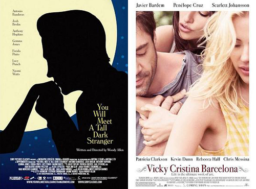 You Will Meet a Tall Dark Stranger & Vicky Cristina Barcelona