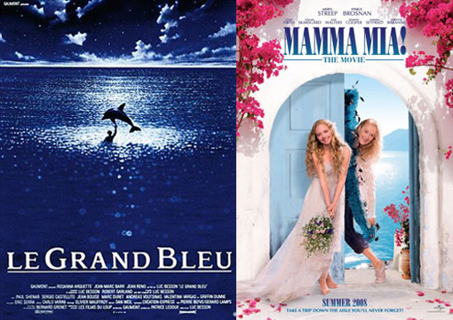 The Big Blue & Mamma Mia