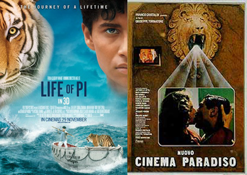 Life of Pi & Cinema Paradiso